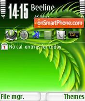 Green Dragon s60v3 es el tema de pantalla