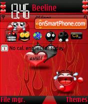 Eil Love s60V3 es el tema de pantalla