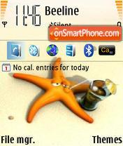 Plyaj theme screenshot