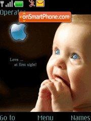 Apple Child theme screenshot