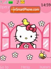 Hello Kitty 11 theme screenshot