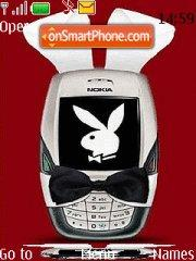 Capture d'écran Nokia Playboy Bunny thème