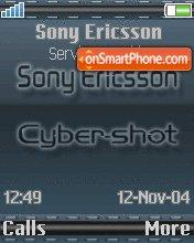 Sonyericsson 01 es el tema de pantalla
