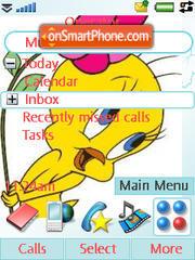 Tweety Pie theme screenshot