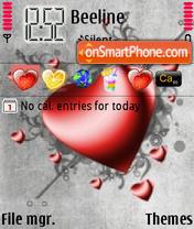 Heart2 es el tema de pantalla
