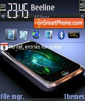 iPhone Dream theme screenshot