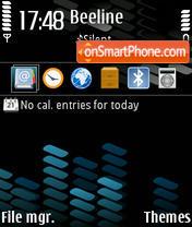 Xpress Blue v.1 theme screenshot