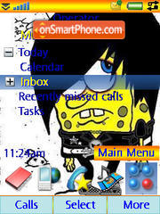 Gubka Bob theme screenshot