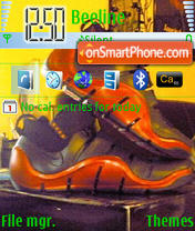 Lebron theme screenshot