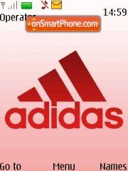 Capture d'écran Pink Adidas thème
