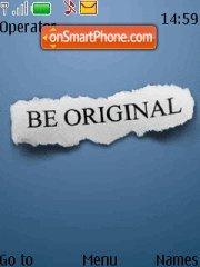 Be Original theme screenshot