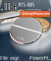 Life 02 es el tema de pantalla