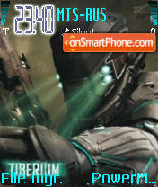 Tiberium es el tema de pantalla