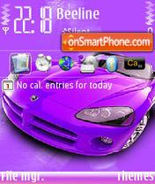 Purple Viper es el tema de pantalla