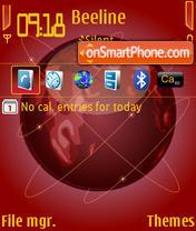 The Red Earth theme screenshot