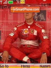 Michael Schumacher 02 theme screenshot