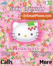 Hello Kitty 13 es el tema de pantalla