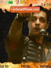 Rammstein Reise Tour es el tema de pantalla
