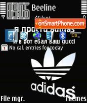 Adidas 26 es el tema de pantalla