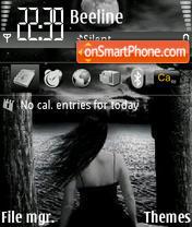 All Dark Rrigger theme screenshot