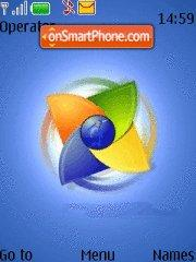 Pc Linux OS tema screenshot