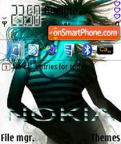 Noklia 240x320 theme screenshot