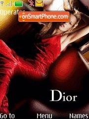 Dior theme screenshot