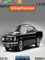 Mustang Mucsle theme screenshot