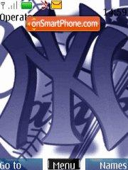 New York Yankees 02 es el tema de pantalla