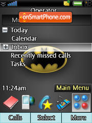 Batman Logo theme screenshot