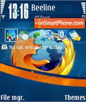 Firefox 10 es el tema de pantalla