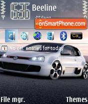 VW Golf GTI Concept W12 es el tema de pantalla