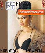 Deepika Padukone 01 theme screenshot