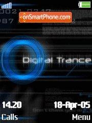 Digital Trance es el tema de pantalla