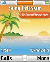 Sunset Beach es el tema de pantalla