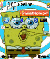Spongebob es el tema de pantalla