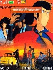Lupin 01 theme screenshot