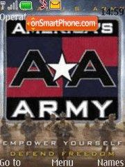 Americas Army theme screenshot