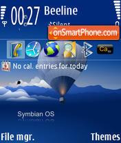 Symbian OS 01 theme screenshot
