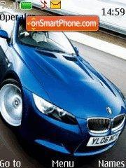 BMW Blue theme screenshot