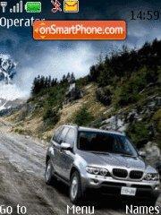 BMW SUV es el tema de pantalla