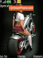 Chopper Girl theme screenshot