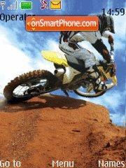 Moto Xtreeme es el tema de pantalla