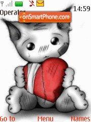 My Heart 4 U theme screenshot