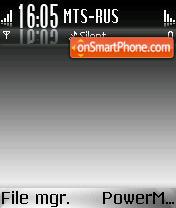 Darkglass theme screenshot
