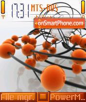 Orange Balls es el tema de pantalla