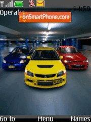 International Turbo League theme screenshot
