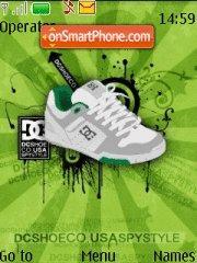 Dc Shoes theme screenshot