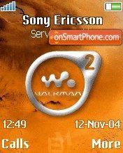 Walkman On Mars theme screenshot