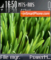 Grass Windows theme screenshot